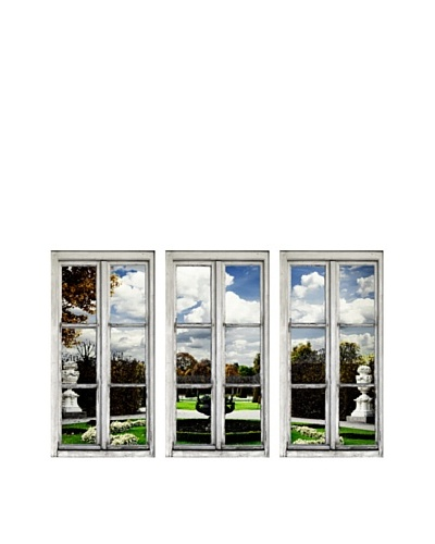 Art Addiction Set of 3 Garden View