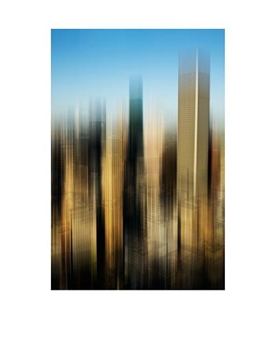 Art Addiction Color City Blur, Vertical