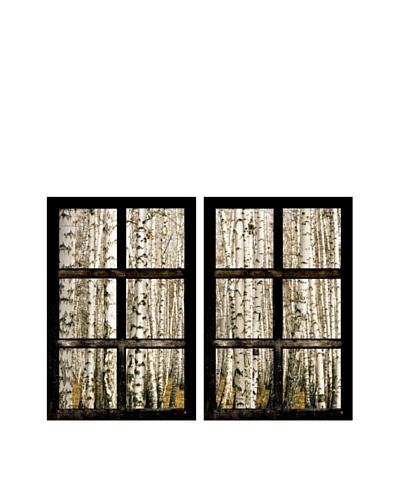Art Addiction Set of 2 Birch Trees II