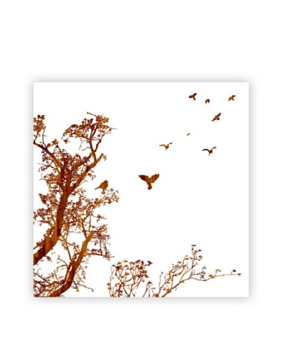 Art Addiction Tree/Birds, White I