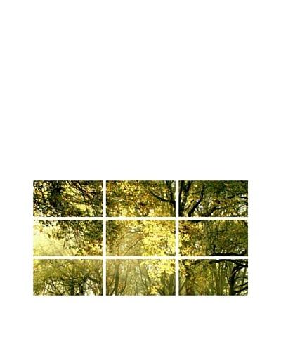 Art Addiction Summer Trees, Polyptych