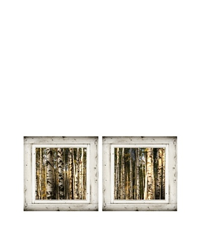 Art Addiction Set of 2 Birch Trees III