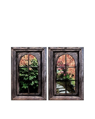 Art Addiction Set of 2 Spring Garden