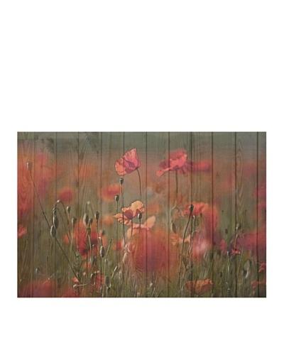 Art Addiction Woodflower III 24 x 36 Acrylic Panel