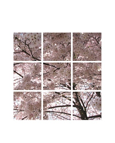 Art Addiction Cherry Blossom, Polyptych