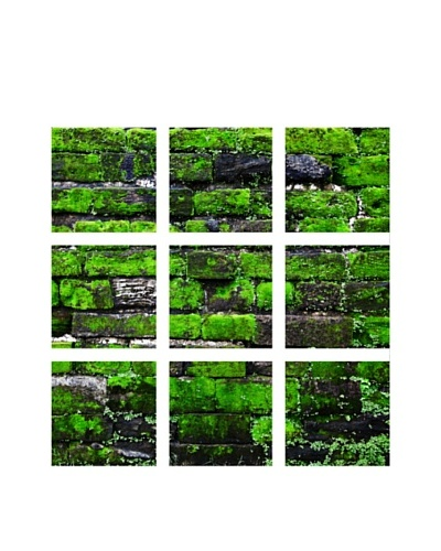 Art Addiction Brick/Moss I, Polyptych