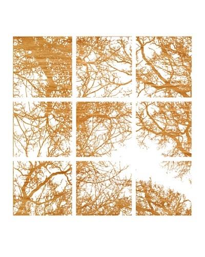 Art Addiction Set of 9 Abstract Tree 12 x 12 Acrylic Panels