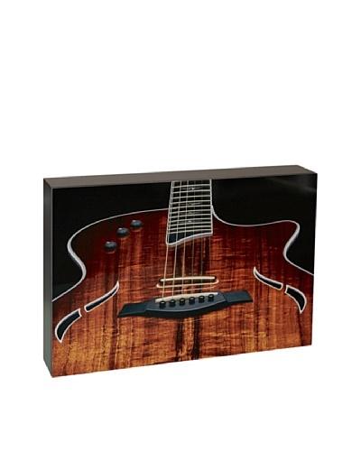 Art Block Guitar - Fine Art Photography On Lacquered Wood Blocks