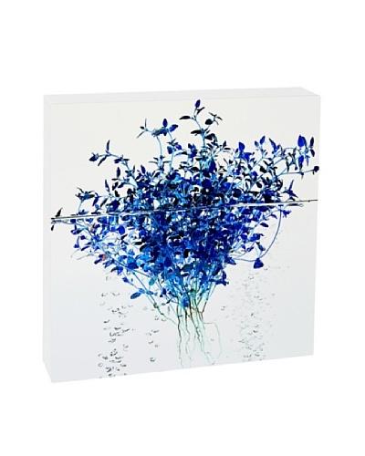 Art Block Blue Thyme Fine Art Photography on Metal