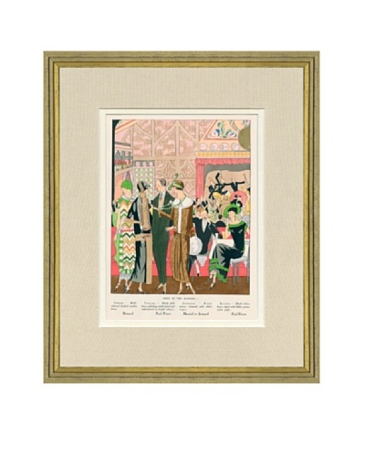 Art Gout Beaute Fashion Illustration Seen at the Acacias by Poiret, Bernard, Armand