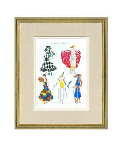 Art Gout Beaute Fashion Illustration Fancy Costumes