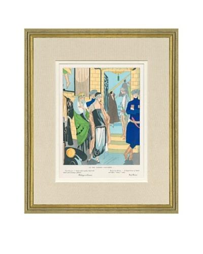Art Gout Beaute Fashion Illustration At The Cabaret Caucasien by Poiret, Gaston