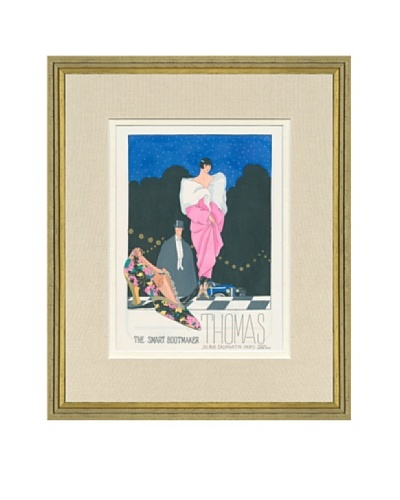 Art Gout Beaute Fashion Illustration Thomas Shoemaker Ad