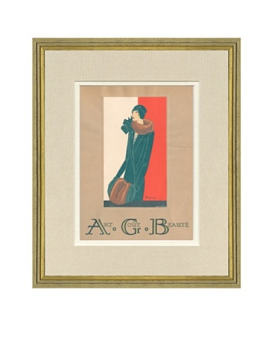 Art Gout Beaute Fashion Illustration Cover from January 1929