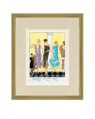 Art Gout Beaute Fashion Illustration Dancing Dresses by Doeuillet, Bernard