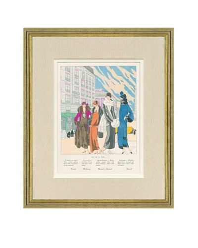 Art Gout Beaute Fashion Illustration Rue De La Paix by Premet, Molyneaux, Armand, Drecoll