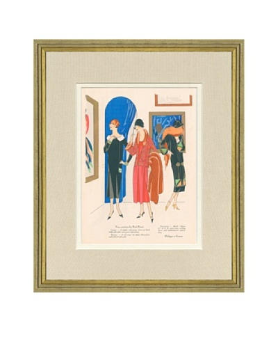 Art Gout Beaute Fashion Illustration The Gallery by Poiret, Gaston