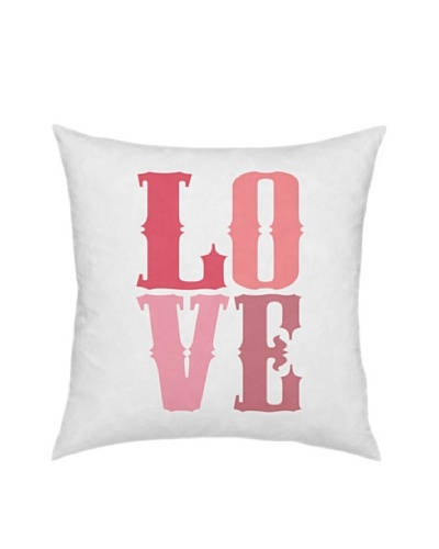 Artehouse Love Pillow, Pink