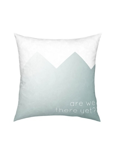 Artehouse Are We There Yet Pillow, BlueAs You See