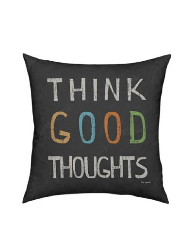 Artehouse Think Good Thoughts Pillow