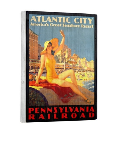 Artehouse Atlantic City Reclaimed Wood Sign