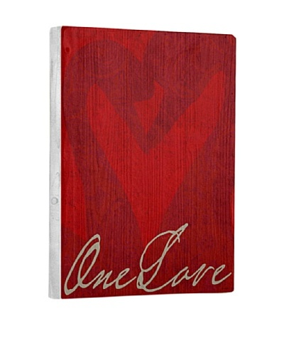 Lisa Weedn One Love Reclaimed Finished Wood Portrait
