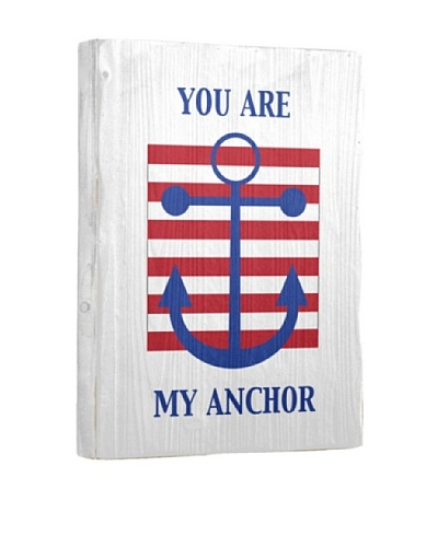 Artehouse You Are My Anchor Reclaimed Wood Sign