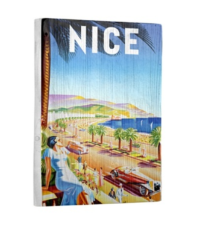 Artehouse Nice Riviera Beach Resort Reclaimed Wood Sign