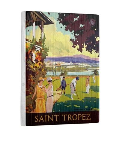 Artehouse Saint Tropez Reclaimed Wood Sign