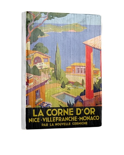 Artehouse La Corne d'Or Reclaimed Wood Sign