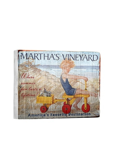 Artehouse Summer Lasts Forever-Martha's Vineyard Reclaimed Wood Sign