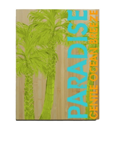 Artehouse Paradise Bamboo Wood Sign