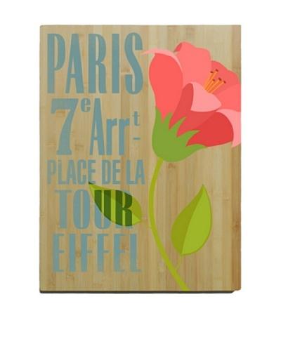 Artehouse Paris Bamboo Wood Sign