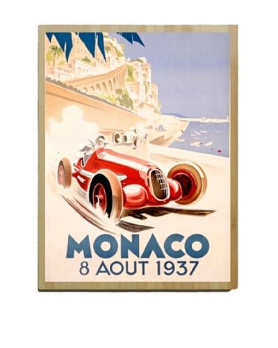 Artehouse Monaco Bamboo Wood Sign
