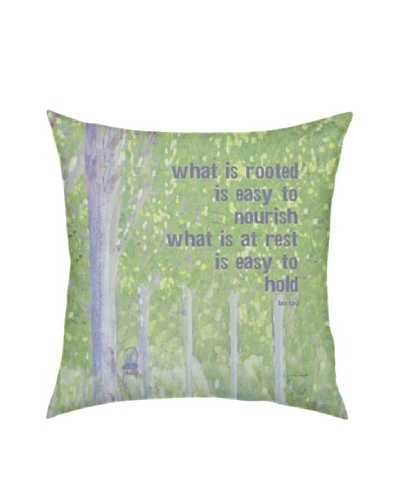 Artehouse What Is Rooted Pillow