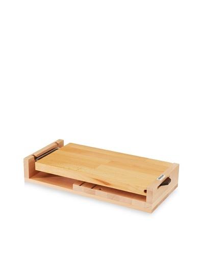 Artelegno Knife Block With Cutting Board, Natural