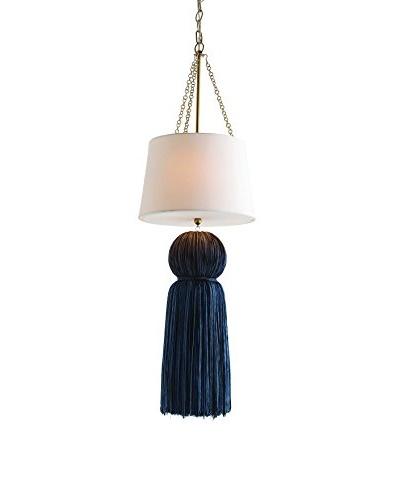 Arteriors Home Tassel Pendant, Dark Blue