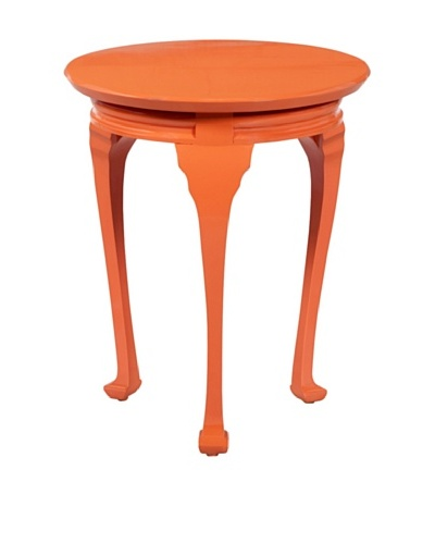 Article 24 Flo Side Table, Tangerine