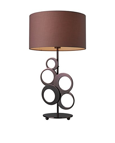 Artistic Lighting Addison Table Lamp, Chocolate