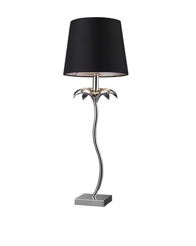 Artistic Lighting Carlisle Table Lamp, Chrome/Black