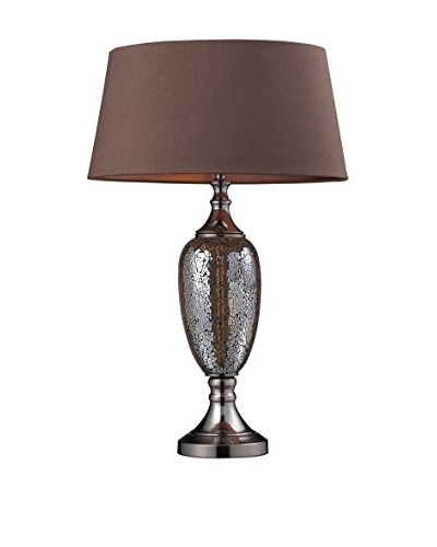 Artistic Lighting Perth Table Lamp, Bronze Mosaic/Coffee Plating