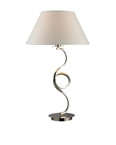 Artistic Lighting Folcroft Table Lamp, Chrome