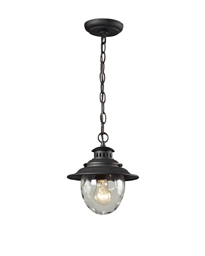 Artistic Lighting Searsport Outdoor Hanging Light, Weathered Charcoal