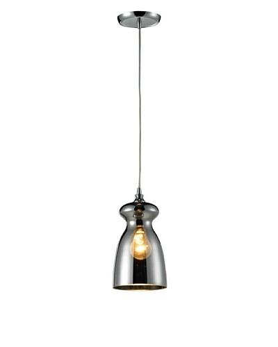 Artistic Lighting Menlow Park Light Pendant, Polished Chrome