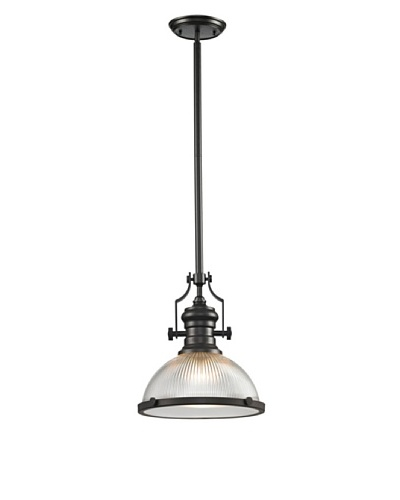 Artistic Lighting Chadwick Collection 1-Light Pendant, Oil Rubbed Bronze