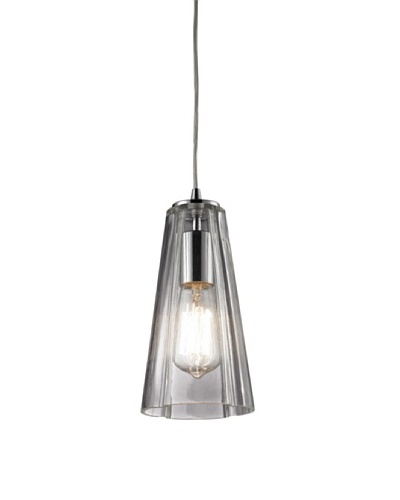 Artistic Lighting Menlow Park Light Pendant, Polished Chrome