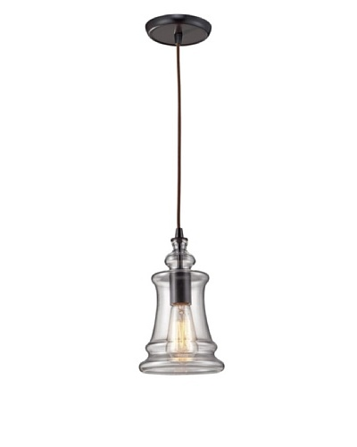 Artistic Lighting Menlow Park Light Pendant, Oiled Bronze