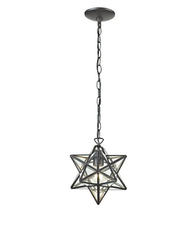 Artistic Lighting Star Pendant, Clear