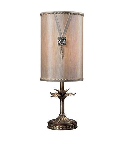 Artistic Lighting Tall Brooch Accent Lamp, Nova