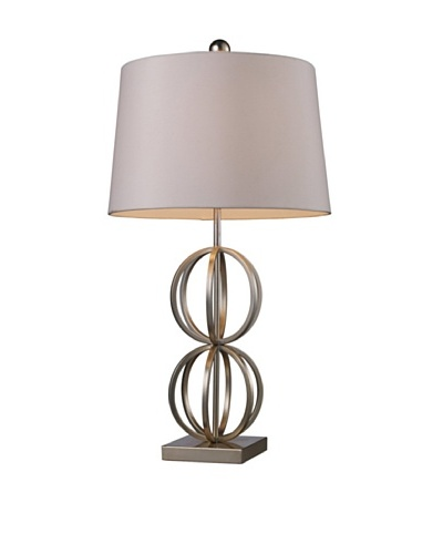 Artistic Lighting Donora Table Lamp, Silver Leaf
